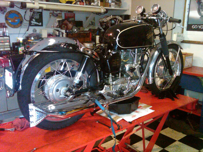 67 velocette clubman 5
